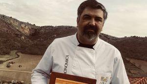 Sergio Baja, de Asador Baja, chef medieval seguntino 2018
