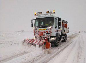 Un total de 106 alumnos de Cuenca se quedan sin ir a clase a causa de la nieve