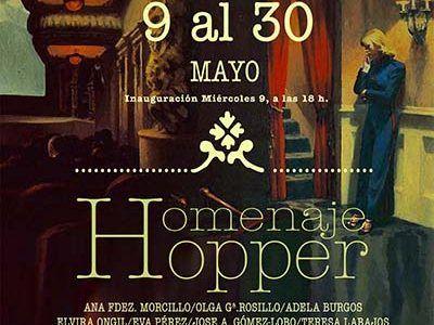 Veinte artistas dialogan sobre Eduard Hopper en una exposición colectiva en la Escuela de Arte Elena de la Cruz de Guadalajara