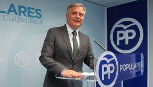 """Cañizares """"Page aplaude que Sánchez haga en España lo mismo que él ha hecho en la región llegar al poder a cualquier precio"""""""