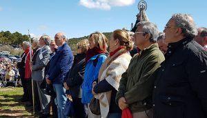 Cientos de personas participan en la 54ª Marcha Diocesana al santuario de la Virgen de Barbatona