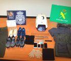Detenidos seis atracadores por el robo en varios locales comerciales en Cuenca y el corredor del Henares