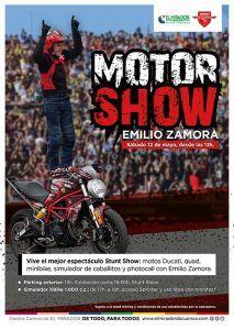 El Centro Comercial El Mirador de Cuenca acoge el motorshow de Emilio Zamora