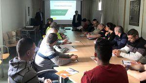 El Gobierno regional forma en Cuenca a 35 profesionales para intervenir en emergencias ferroviarias