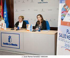 El Plan de Salud Mental de Castilla-La Mancha 2018-2025 aumentará los recursos y programas dirigidos a personas con trastorno mental grave