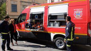 El Servicio de Extinción de Incendios de Guadalajara incorpora un nuevo vehículo especializado en excarcelaciones
