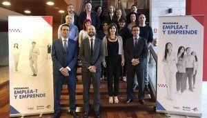 Emprendedores de Guadalajara participan en el nivel de Inicia-T del programa Emplea-T y Emprende de la Fundación Ibercaja