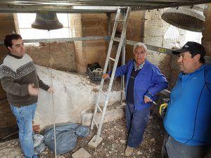 En ejecución la rehabilitación de la torre de Saceda del Río