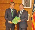 Eurocaja Rural traslada al delegado del Gobierno en Valencia su apuesta por el desarrollo del territorio