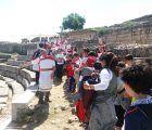 Exitosa y participativa convivencia escolar en el Parque Arqueológico de Segóbriga en torno a la romanización de nuestra provincia