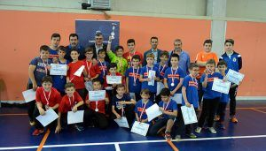 Godoy clausura el curso deportivo del Club de Balonmano 'Isaac Albéniz'