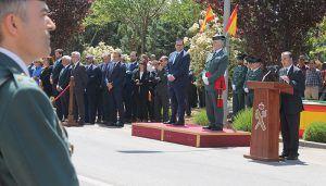 Gregorio destaca la profesionalidad y entrega de la Guardia Civil en sus 174 años de historia, siempre al lado del ciudadano