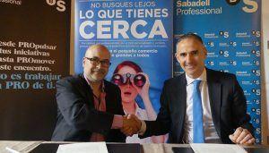 La Asociación del Comercio de Cuenca y Banco Sabadell colaborarán para dar servicio a las empresas del sector