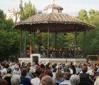 La Banda Municipal de Música de Cuenca ofrece un concierto en el Parque San Julián por el Día de las Fuerzas Armadas