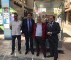 La ONCE estrena en Cuenca su nuevo modelo de quiosco más accesible, ecológico y cercano al público