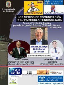 Los medios de comunicación y su particular encrucijada, a debate este viernes en Sigüenza
