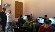 Mariscal visita a los alumnos del curso 'Especialista en Realización y Producción Audivisual'