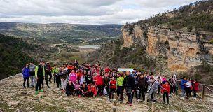 Más de 1.500 alumnos de Primaria y Secundaria de Cuenca han participado en el programa de senderismo escolar