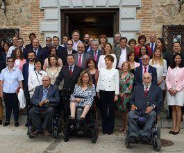 """Page asegura a las familias de personas con grave discapacidad que """"cuando ellos no estén, estará Castilla-La Mancha"""""""