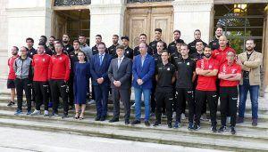 Prieto y Pinar dan la enhorabuena a la Directiva y plantilla de la Unión Balompédica Conquense por su ascenso a Segunda División B