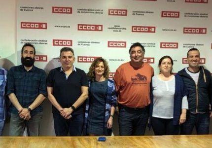 Representantes de CCOO en Ambulancias Cuenca UTE se organizan para preparar la nueva etapa