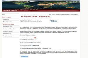 Telefónica lanza una nueva convocatoria de becas de su programa Talentum