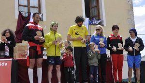 Un total de 365 corredores toman Romancos en la décima edición de su Carrera Popular con Ana Lozano como madrina