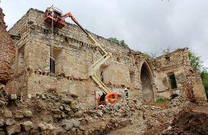 Abierto el plazo para inscribirse en las visitas guiadas a las obras de restauración que el Gobierno regional realiza en el Monasterio de Bonaval