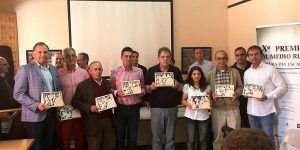 Albendea acogió la gala de entrega de los X Premios del Medio Rural Ribera del Escabas