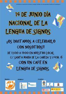 """APANDAGU organiza un Café en Lengua de Signos"""" para dar a conocer a todo el mundo la Lengua de Signos"""