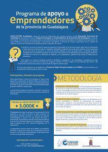 Atención! 3.000 euros al mejor proyecto del Programa de Apoyo a Emprendedores de Guadalajara impulsado por CEOE-Cepyme Guadalajara