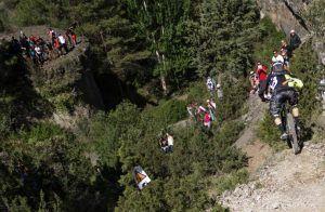 Cae por un barranco un ciclista de 32 años durante la celebración de Endurama en Cuenca