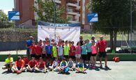 Dieciocho parejas disputaron en Cuenca el Campeonato Provincial de Pádel Alevín