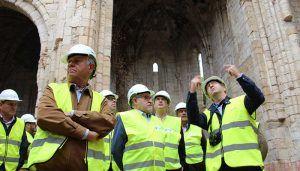 El Gobierno regional abre al público las obras de restauración del Monasterio de Bonaval, que cuentan con una inversión de 399.000 euros en su primera fase