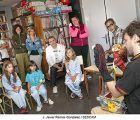 El Hospital de Guadalajara acoge una sesión de narración oral con motivo del inicio del Maratón de los Cuentos