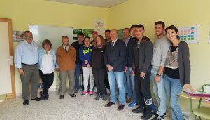 El presidente de la Diputación destaca en Molina las oportunidades de trabajo que propician los cursos del programa Dipuemplea Joven