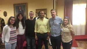 Engonga recibe a la nueva Asociación de Sordos de Guadalajara