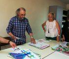 Entrega de obsequios del concurso de pintura contemporánea organizado por Cuenca Abstracta