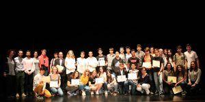 Entregados los premios del 12º Certamen Literario del IES Ana María Matute