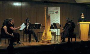 Este sábado, concierto extraordinario de primavera en Sigüenza a cargo de la Agrupación Camerística Isolda