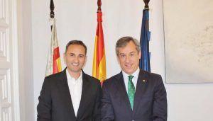 Eurocaja Rural traslada al presidente de la Diputación Provincial de Alicante su implicación en la dinamización del territorio