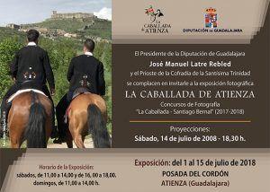 Exposición de fotografías del Concurso La Caballada-Santiago Bernal en la Posada del Cordón de Atienza