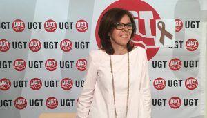 """Higina García (UGT CLM) """"Aunque en Castilla-La Mancha se está creando empleo, se trata de empleo estacional, temporal y precario"""""""