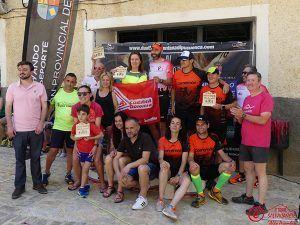 """Israel Fernández y María Jesús Algarra se proclamaron campeones en el III Trail Salvacañete """"Alto Arambio"""""""