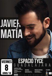 Javier Matía en el TYCE el viernes 8 de junio