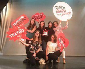 La Escuela Municipal de Música y Artes Escénicas de Cuenca recoge el galardón de los Premios Buero de Teatro Joven