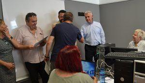La Junta acerca a las personas mayores a las nuevas tecnologías a través del programa CapacitaTIC+55