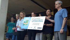 """La Junta entrega al CEIP Fuente del Oro de Cuenca el primer premio del reto """"Castilla-La Mancha da la vuelta al mundo"""""""