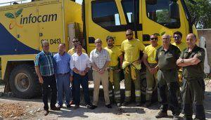 La Junta ha invertido 628.000 euros en obras para mejorar el dispositivo de la campaña contra incendios forestales en Guadalajara