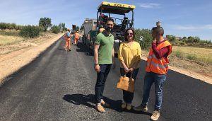 La Junta inicia las obras de acondicionamiento de dos ramales de la CM-3201 en El Herrumblar
